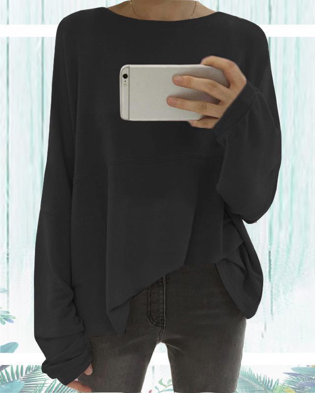 Loose Long Sleeve Fall Casual Shirts & Tops