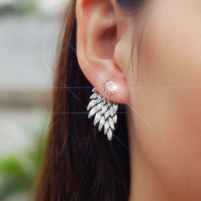 Creative Angel Wing Earrings