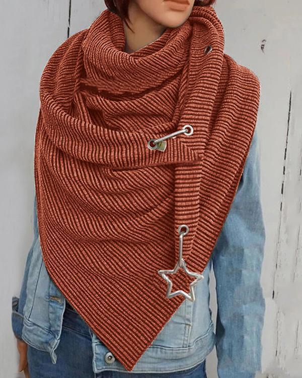 Women Cotton-Blend Casual Scarves & Shawls