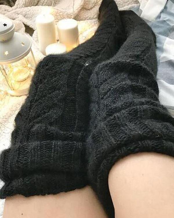 Autumn And Winter Women Woolen Socks