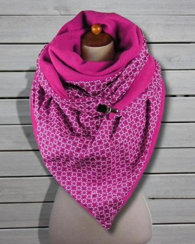 Women Printed Scarf Shawl Casual Winter Scarf
