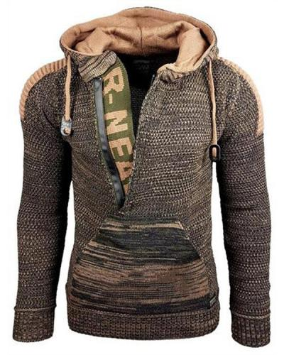 Men's Fashionable Long Sleeve Casual Hoodies