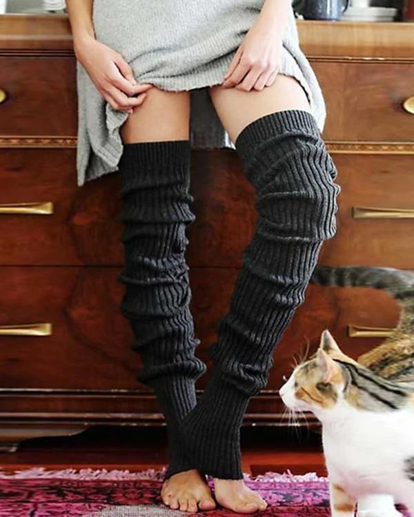 Warm Over Knee Socks Leg Warmers