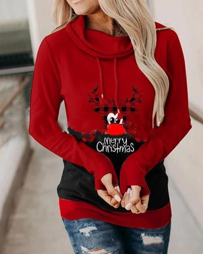 Merry Christmas Hoodie Holiday Sweatshirt