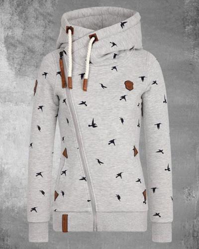 Casual Cotton-blend Fleece Hoodie Sweatshirt
