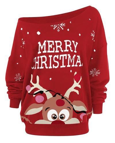 Women's Merry Christmas Blouses&Tops