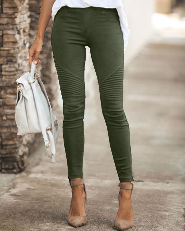Womens High Waist Daily Leggings