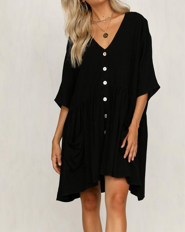 Embroidery Caftan Beach Tunic Cotton Beach Cover Up