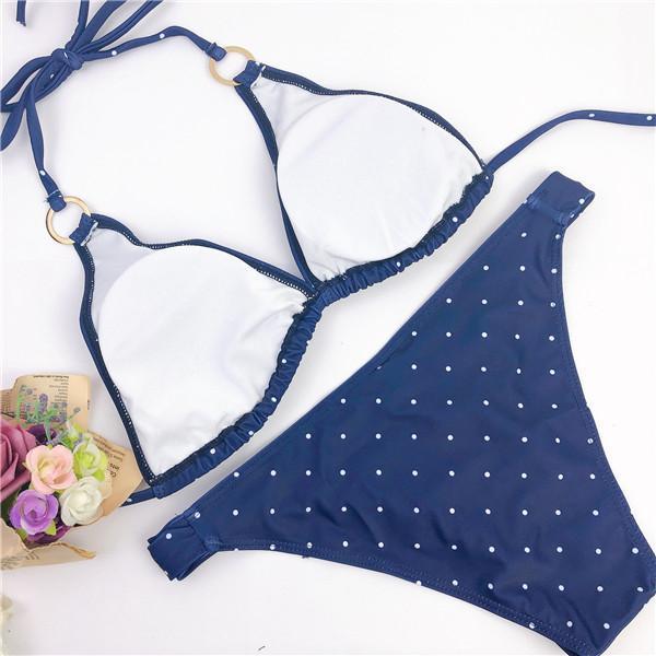Polka Dot Triangle Bikini