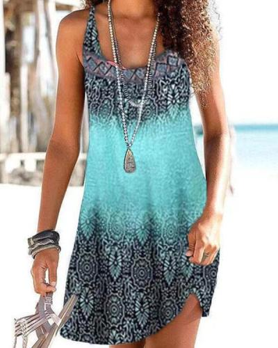 Bohemian Tunic Beachside Mini Dresses
