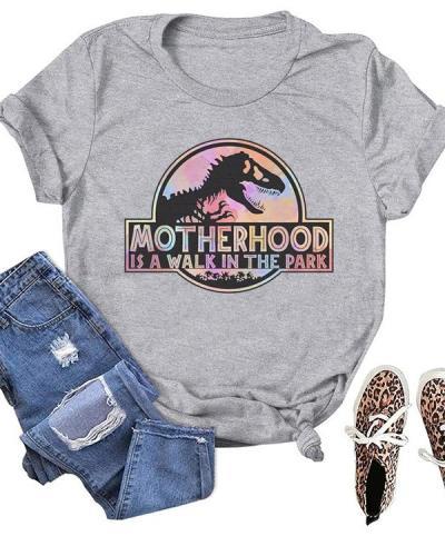 Motherhood Printed Daily Simple T-shirts
