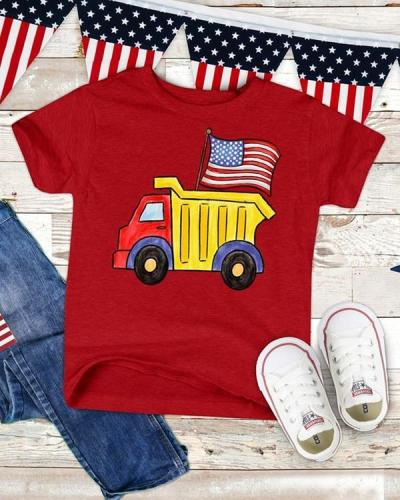 Cute Truck USA T-shirt Tees