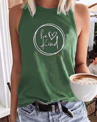 Casual Sleeveless Cotton Blend Vests