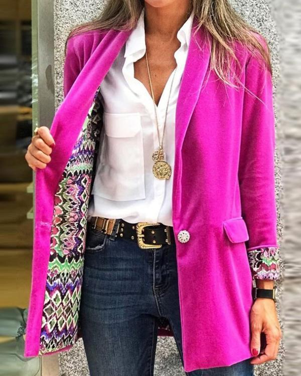 Fashion Casual Suit Jacket