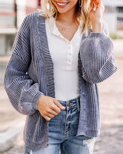 Patchwork Regular Thin Fall Women's Sweater