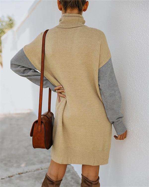Loose knit dress