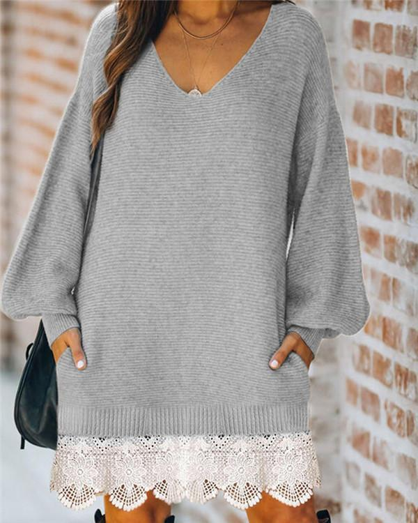 Women's Long-sleeved Outer Hip Skirt