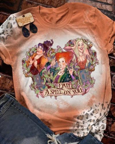 Halloweentown Vintage Bleached T-Shirt Tee