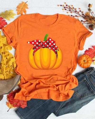 Halloween Pumpkin T-Shirt Tee
