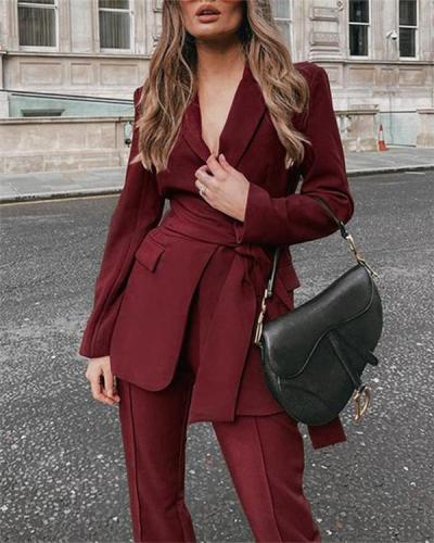 Two-piece Fashion Suit Suit