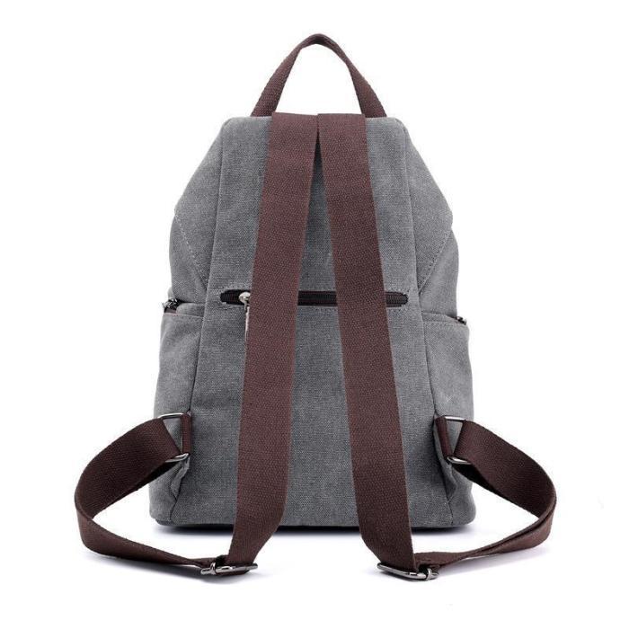 Canvas Vintage Casual Big Capacity Backpack