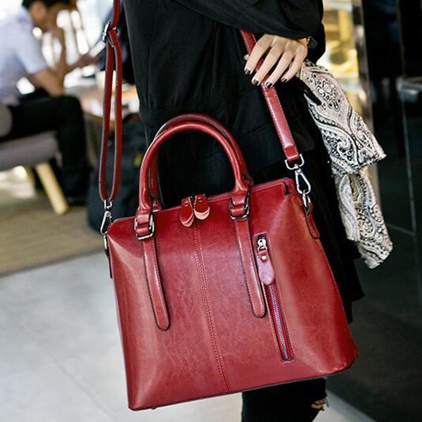 New Designer Handbag Business Lady Briefcase Crossbody Bag