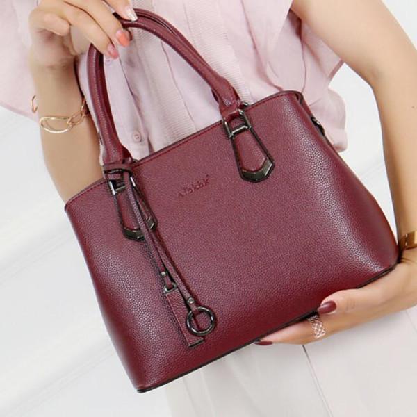 Women Genuine Leather Shoulder Bag Cowhide Crossbody Bag