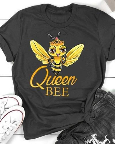 Queen Bee Casual T-shirt Tee