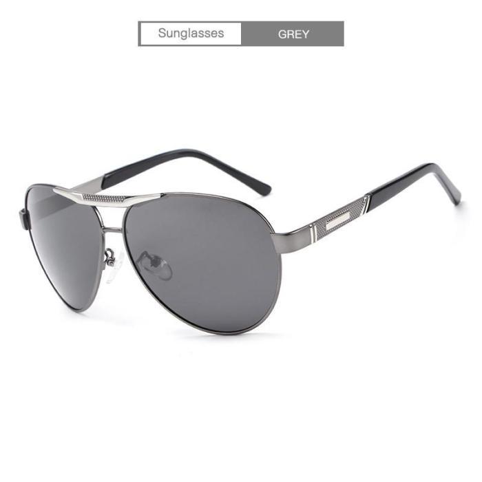 Classic Fishing UV400 Polarized  Vintage Pilot Sun Glasses