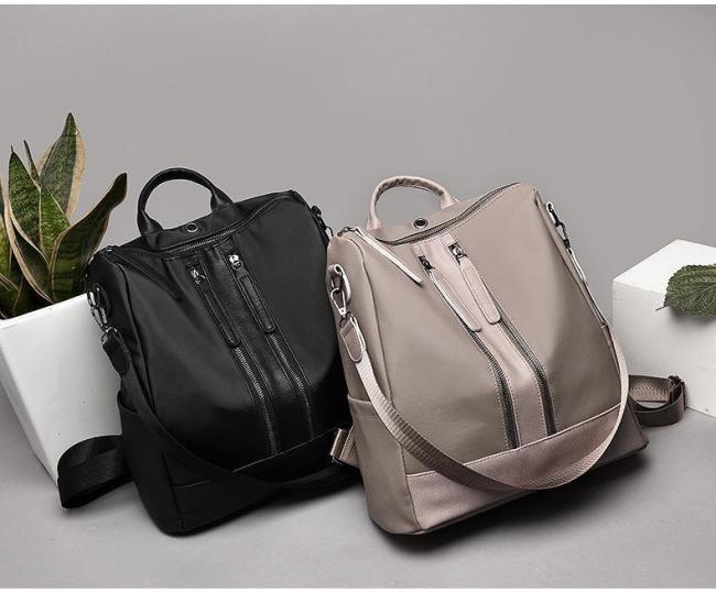 Women Oxford Cloth Shoulder Bag Travel Waterproof Backpack