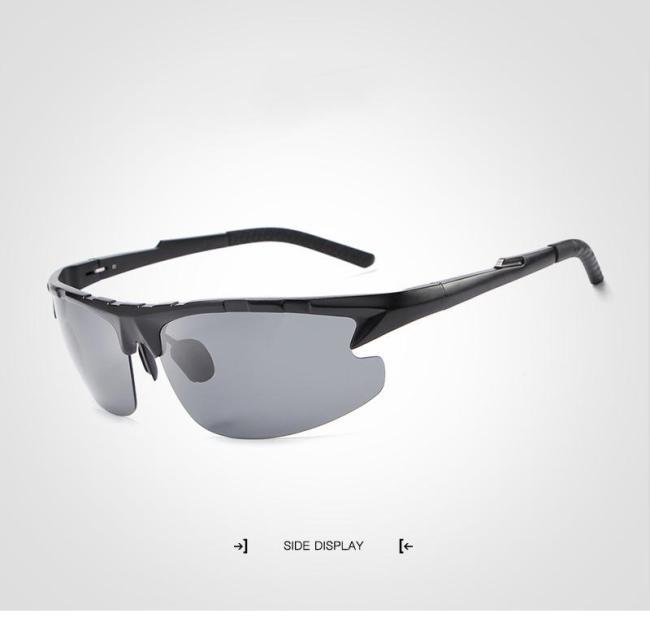 Aluminum Polarized Fashion Vintage Pilot Sun Glasses With Box