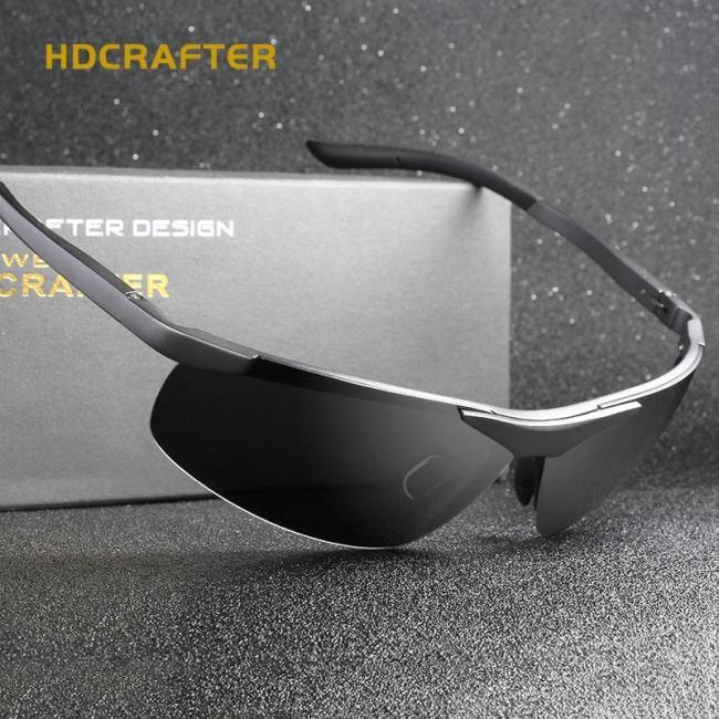 Fashion Driving Men's Polarized  Vintage Pilot Sun Glasses With Box