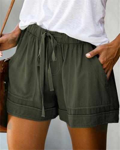 Womens Casual Loose Shorts Pants