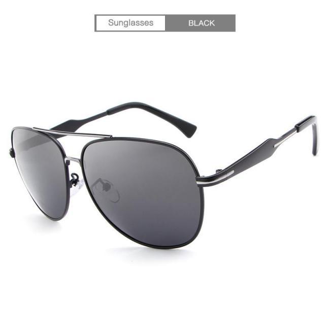 Outdoor Fishing UV400 Polarized  Vintage Pilot Sun Glasses