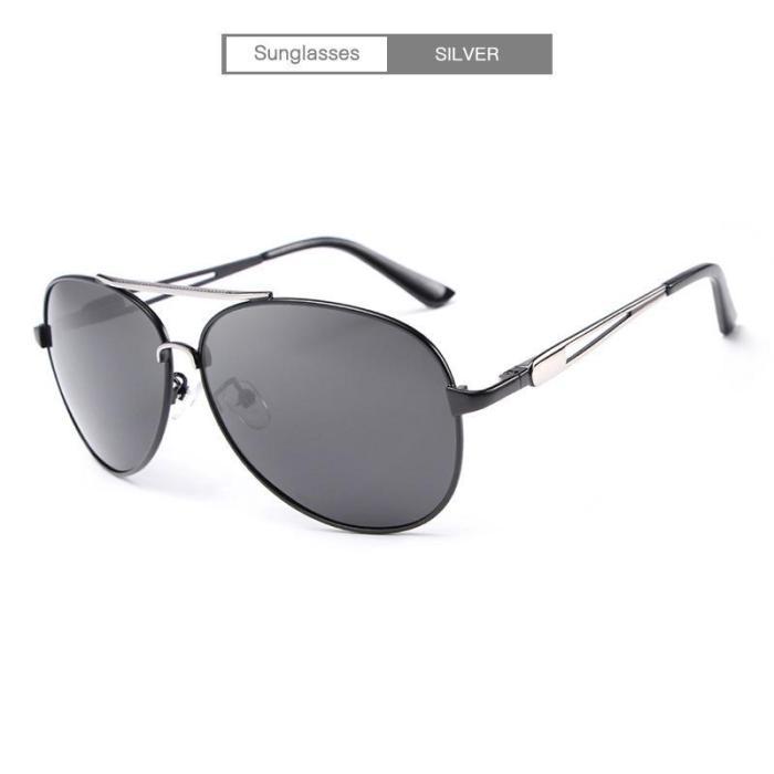 Fashion Men's Polarized  Vintage Pilot Sun Glasses With Box