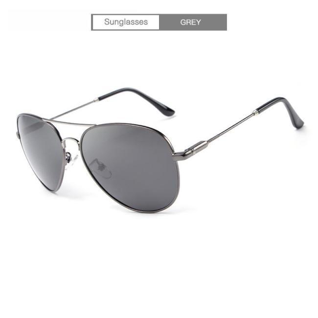 Driving Polarized  Vintage Pilot Sun Glasses With Box