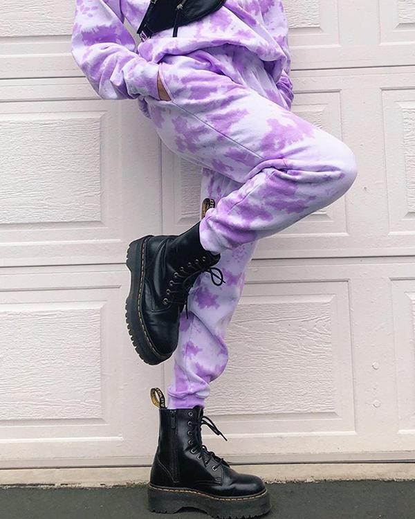 Fashion Tie-Dye Casual Pants