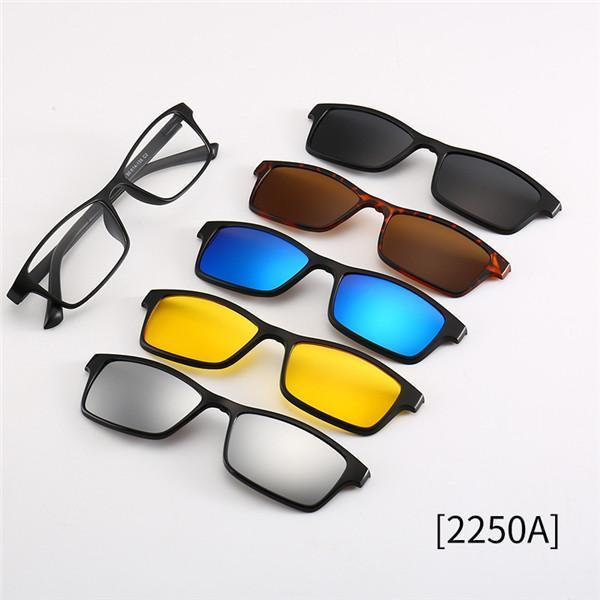 5 in 1 Swappable Sunglasses