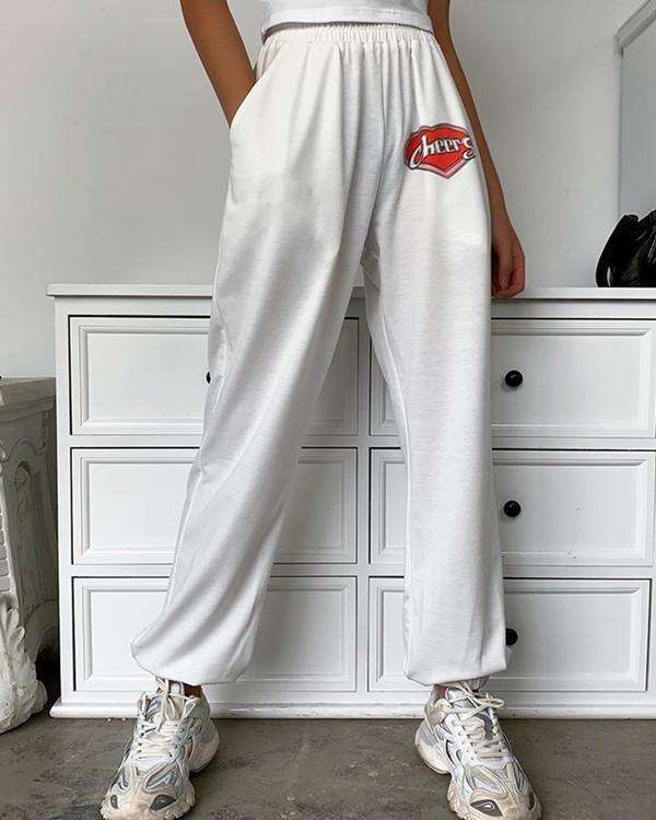 Cotton fabric fashion versatile loose casual jacket pants suit