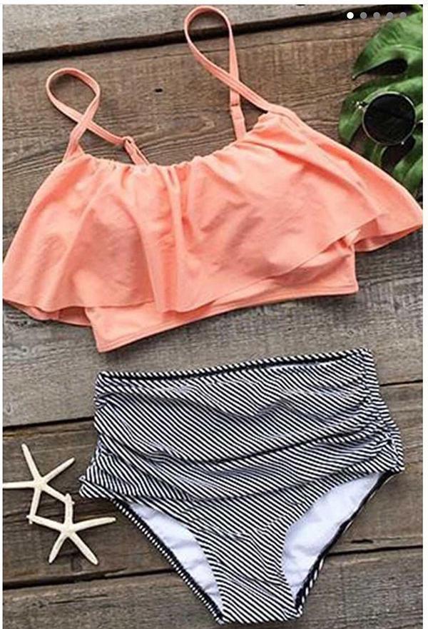 Seaside Gale High Waist Bikini Set