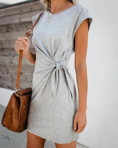 Solid  Women Holiday Daily Fashion Mini Dresses