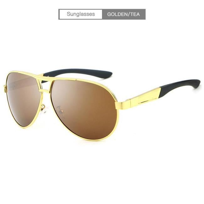 Summer Outdoor Fishing Men's Polarized  Vintage Sun Glasses With Box