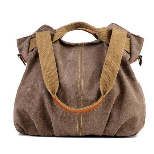 Vintage Canvas Tote Handbag Crossbody Bag