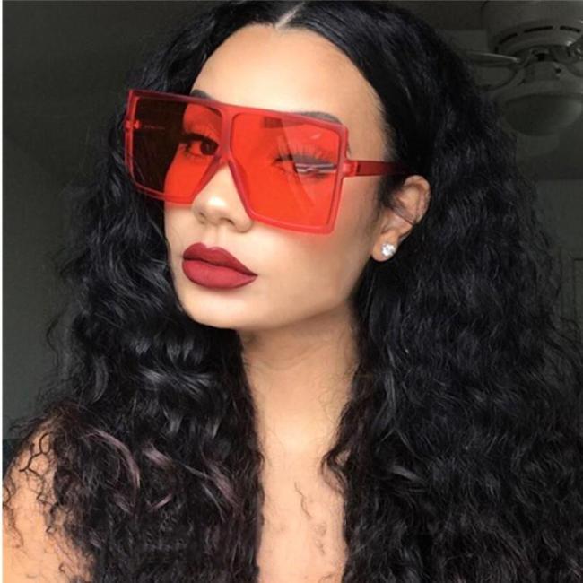 Vintage Big Square Sunglasses