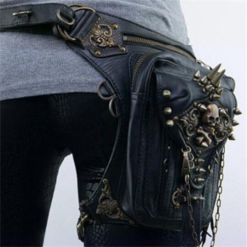 Women's Vintage Multifunctional Punk Shoulder Crossbody Bag