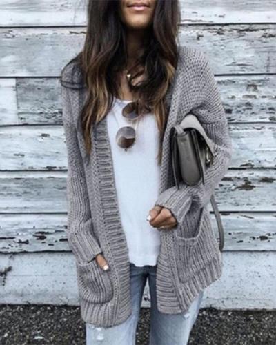 Medium Long Thick Cardigan Sweater