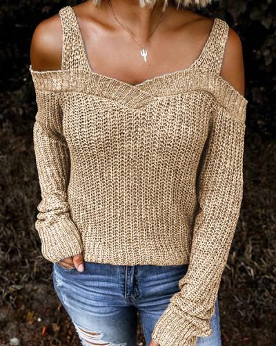 Dew Shoulder Sweater