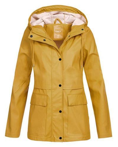 Long Sleeve Turtleneck Buttons Coats