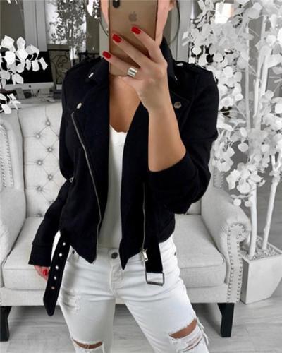 Cardigan Women Solid Fall Jacket