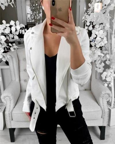 Cardigan Women Solid Fall Jacket